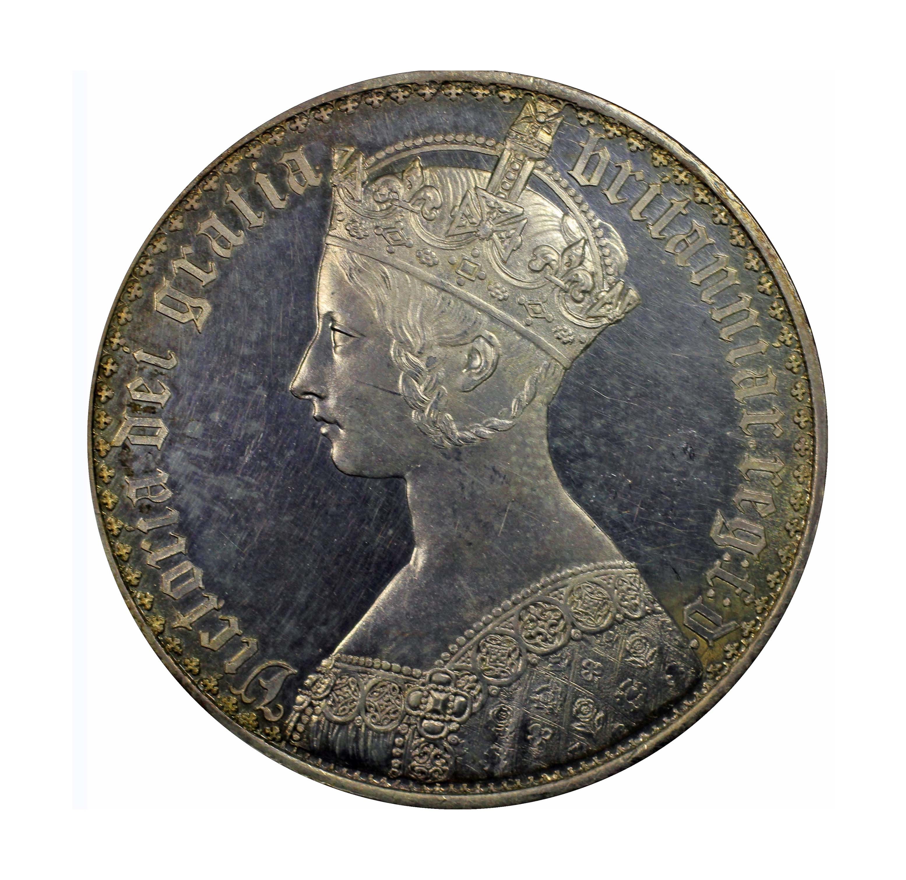 victoria 1847 crown1