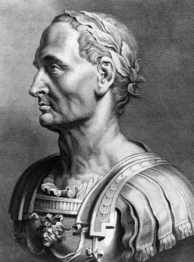 Gaius Julius Caesar by Getty Images