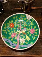 ヘレンド緑のお皿