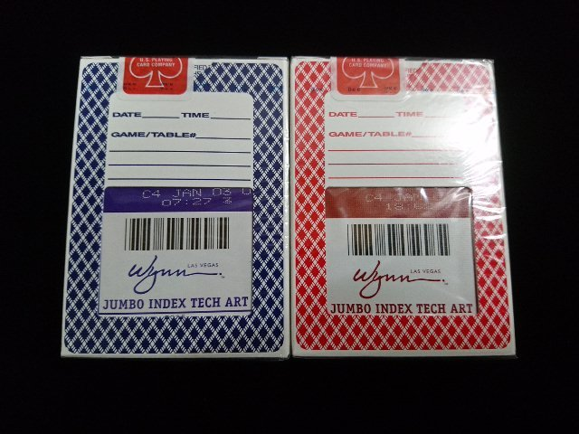 Wynn Deck Diamond Back RedBlue (Bee) (2)