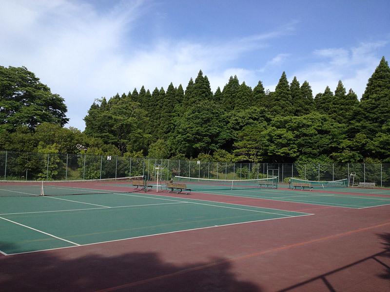 昭和の森テニスコート