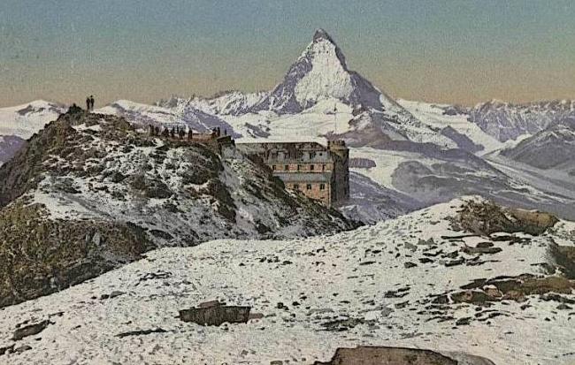 Kulmhotel Gornergrat 1922