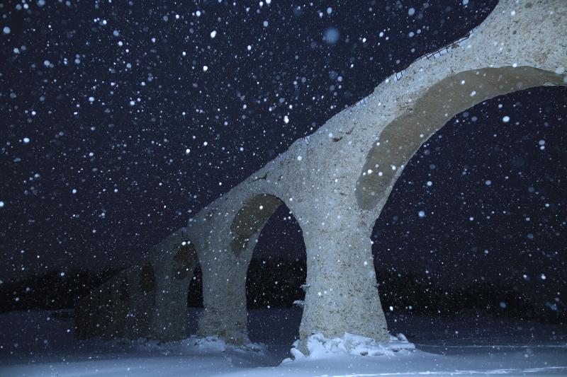 タウシュベツと雪