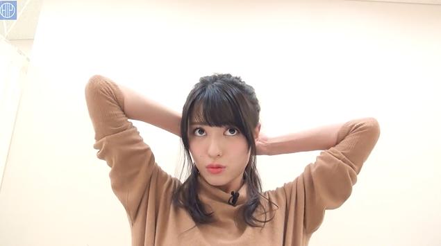 舞美ちゃんのヘアアレンジは擬音のクセが凄い!