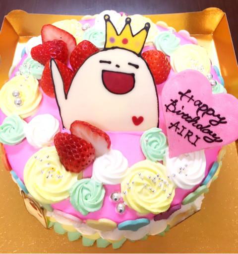 すーさんケーキ