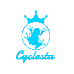 王冠カエルとロゴ