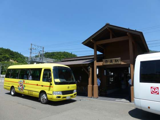 JR仙山線・作並駅