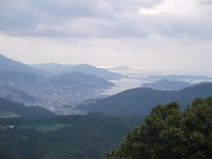 山頂からの眺め(1)