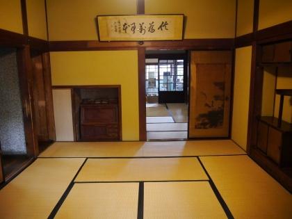 太宰治誕生の「部屋(小間)」
