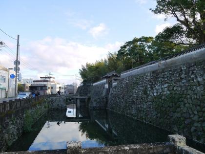 福江城(石田城)跡