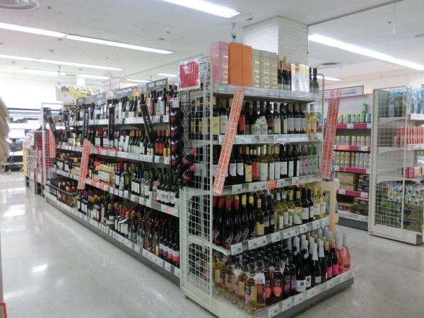1階ワイン