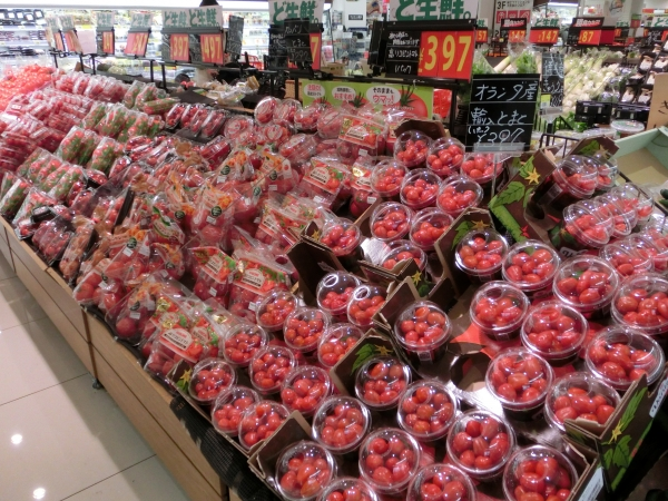 1階青果トマト