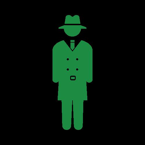 刑事、またはスパイ