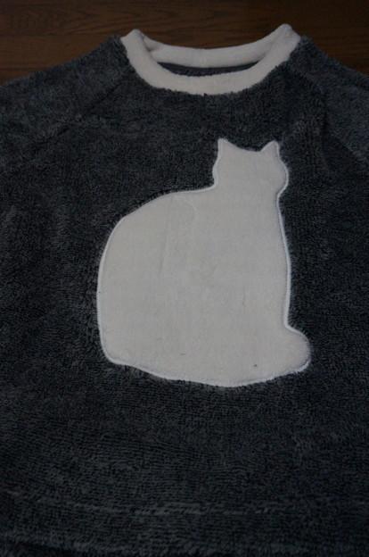 白猫さん柄♪