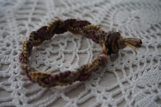 三つ編みブレス横