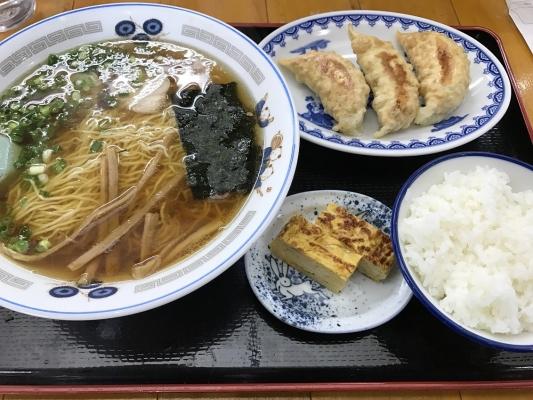 ラーメン・餃子・ライスセット