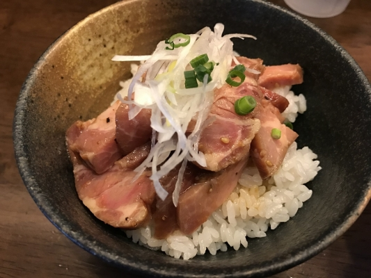 豚チャー丼
