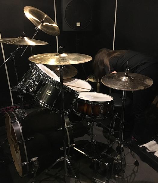 VALKYRIEヴァルキューレドラムしゅうちゃん(レコーディング前)2