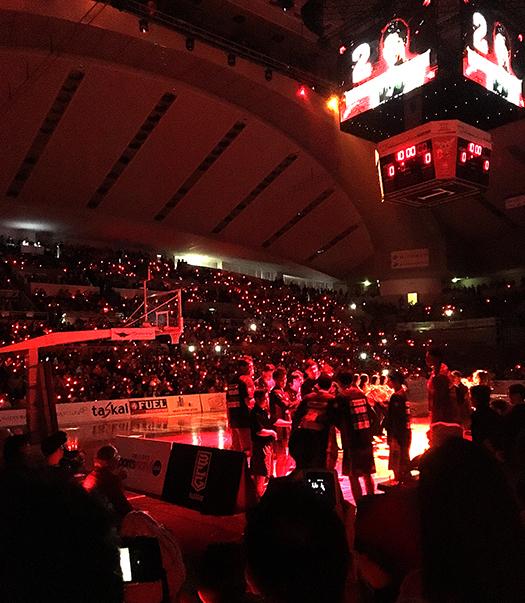 Bリーグ_大阪エヴェッサの試合