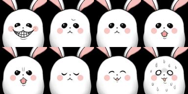 グゥちゃん表情2