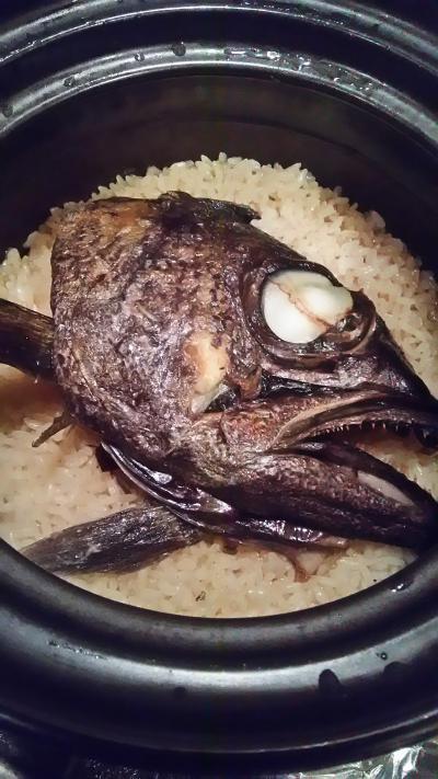 黒むつ御飯