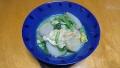 里芋と小松菜の卵とじ 20170316