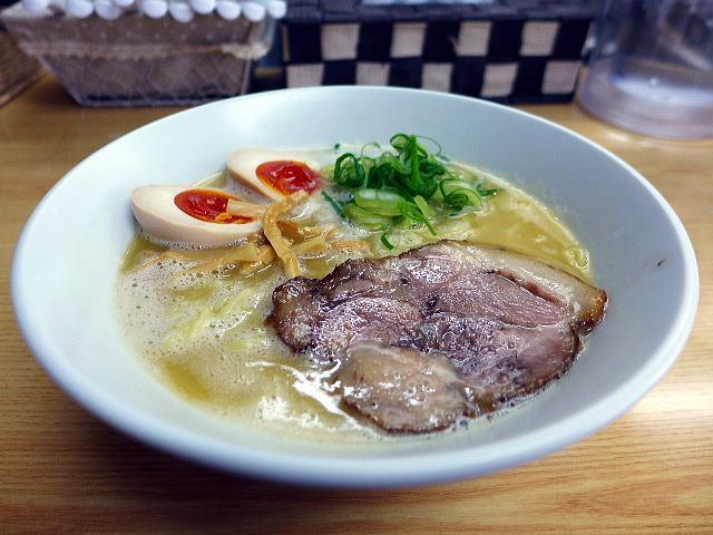 鶏麺亭@01濃厚鶏白湯ラーメン(塩) 1