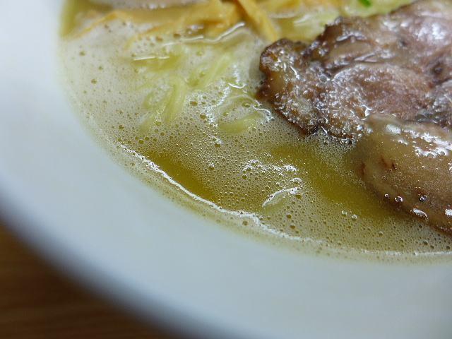 鶏麺亭@01濃厚鶏白湯ラーメン(塩) 2
