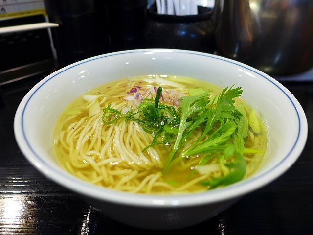 ロックンビリースーパーワン@07比内地鶏の塩らぁ麺~かけstyle~ 1