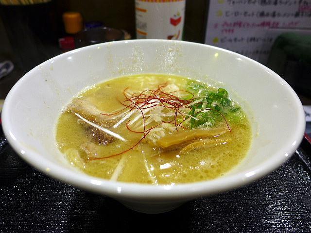 麺ヒーロー@01鶏白湯らーめん 1