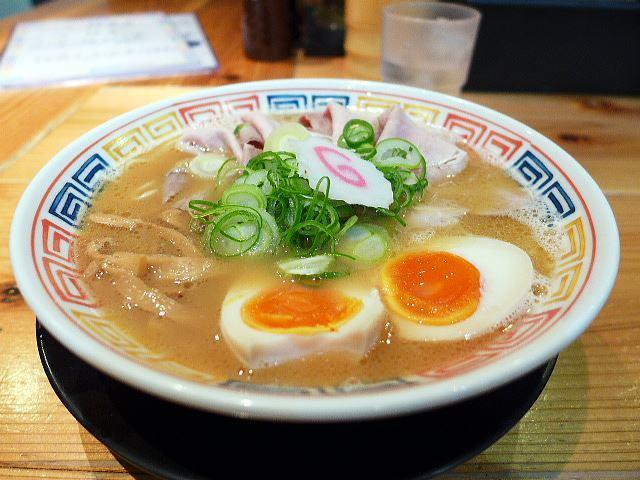 麺や 清流@04鶏白湯ラーメン醤油 1