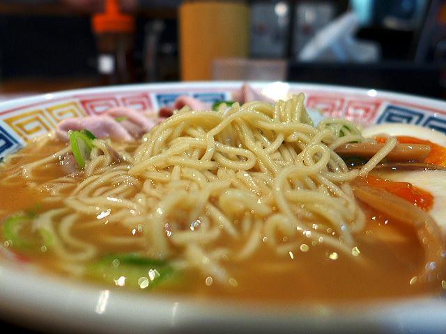 麺や 清流@04鶏白湯ラーメン醤油 3
