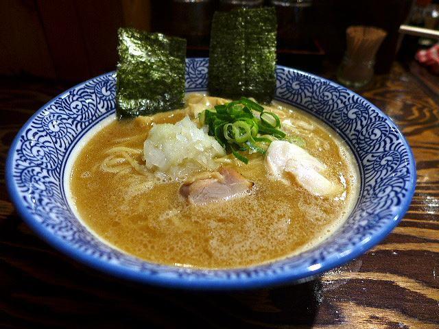 麺屋 問@01濃厚醤油鶏白湯らーめん 1