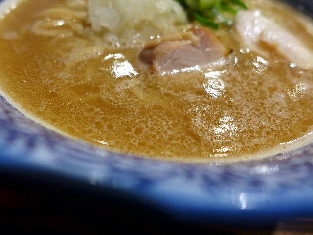 麺屋 問@01濃厚醤油鶏白湯らーめん 2
