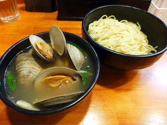 ラーメン哲史@02ホンビノス貝塩つけ麺 1