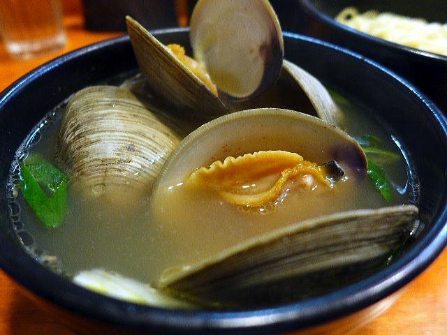 ラーメン哲史@02ホンビノス貝塩つけ麺 3