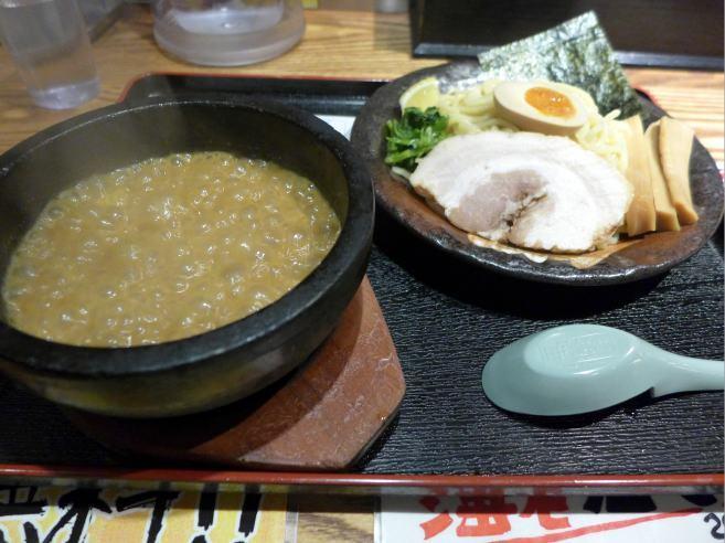 竹本商店 海老麺舎 大阪心斎橋店@01伊勢海老つけ麺 1
