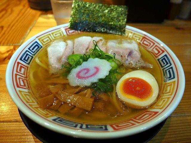 麺や 清流@05秋刀魚ラーメン 1