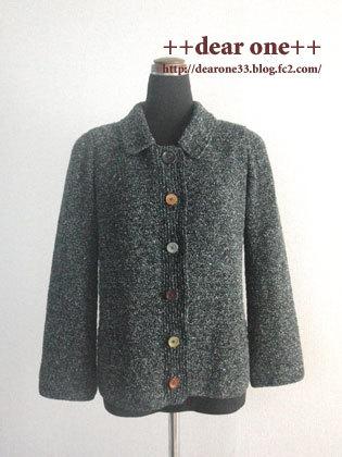かぎ針編みのジャケット170220_1