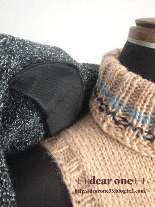 かぎ針編みのジャケット170220_6