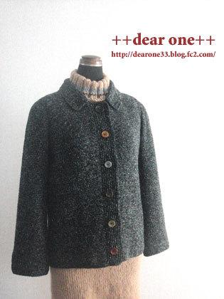かぎ針編みのジャケット170220_7