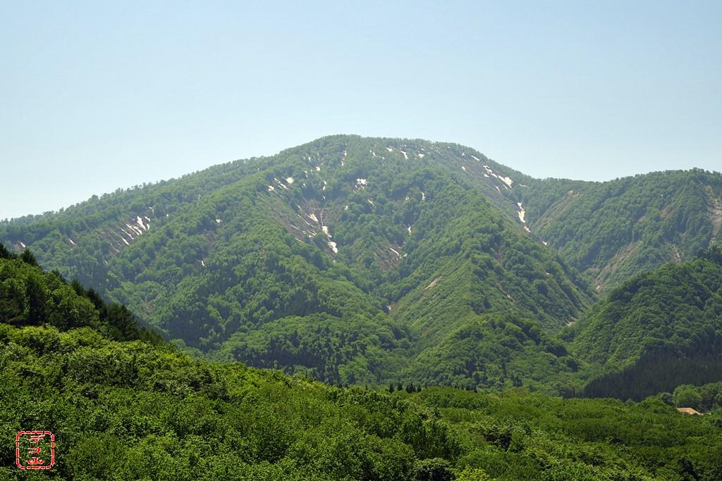 波02 「足倉山」 湯沢市皆瀬黒沢...