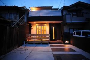 京都,滋賀,注文住宅,京都市,左京区,一乗寺,狭小住宅