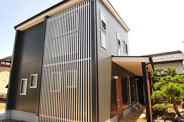 滋賀 注文住宅 滋賀県 長浜市 和モダン注文住宅 デザイナーズ住宅 一級建築