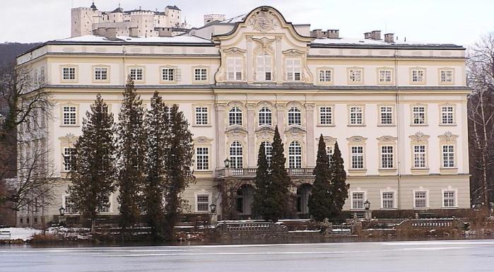 Schloss Leopoldskron und Festung