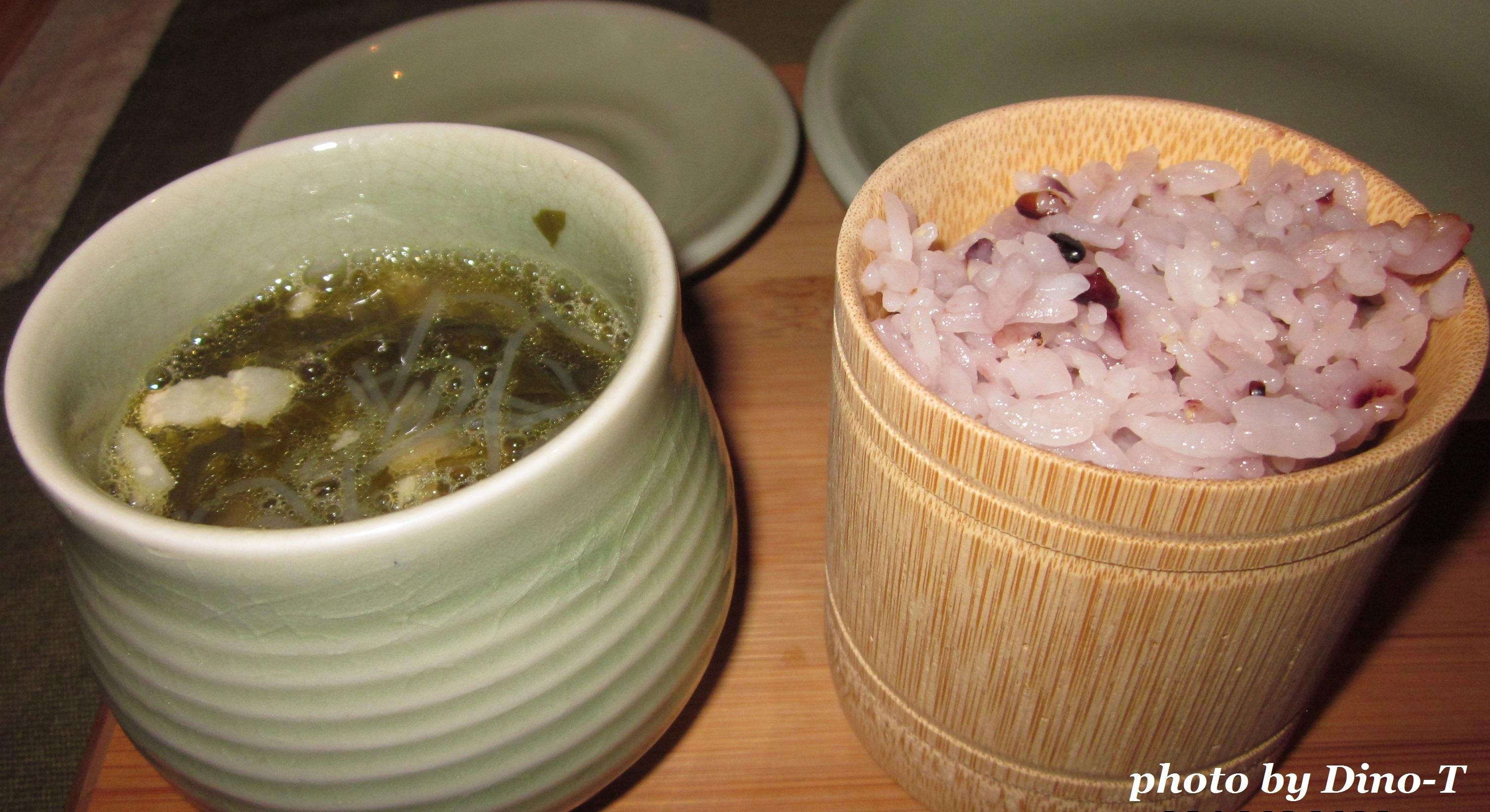 高菜と豚肉の塩チャプチェスープ2