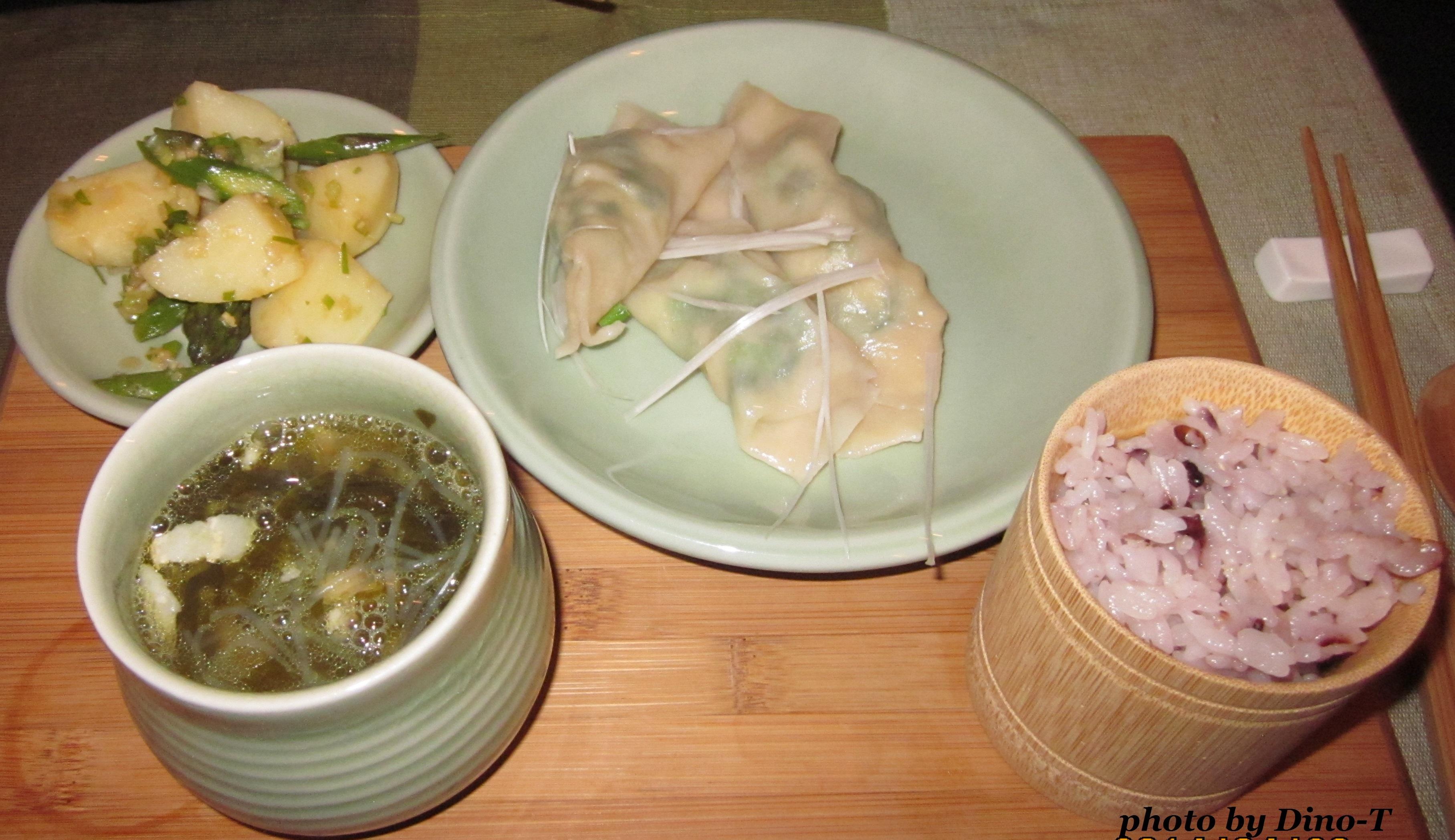 高菜と豚肉の塩チャプチェスープ3