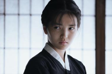 『お嬢さん』 侍女のスッキを演じるのはキム・テリ。オーディションで選ばれた新人だとか。