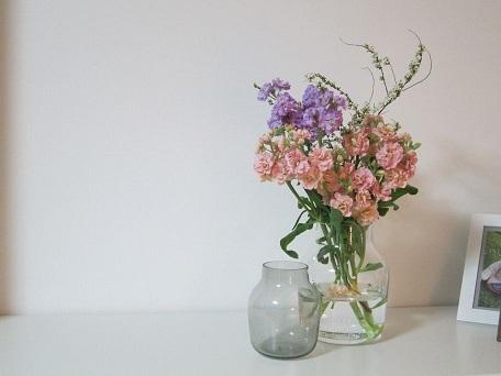 引っこ抜いたお花