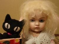 ビスクさんと黒猫